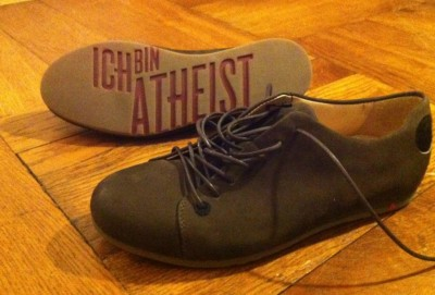 Atheist shoes for shoe atheists